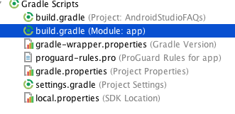 cambiar codigo version gradle