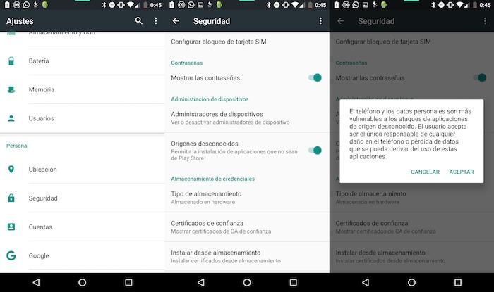 Cómo instalar APK en Android desde PC