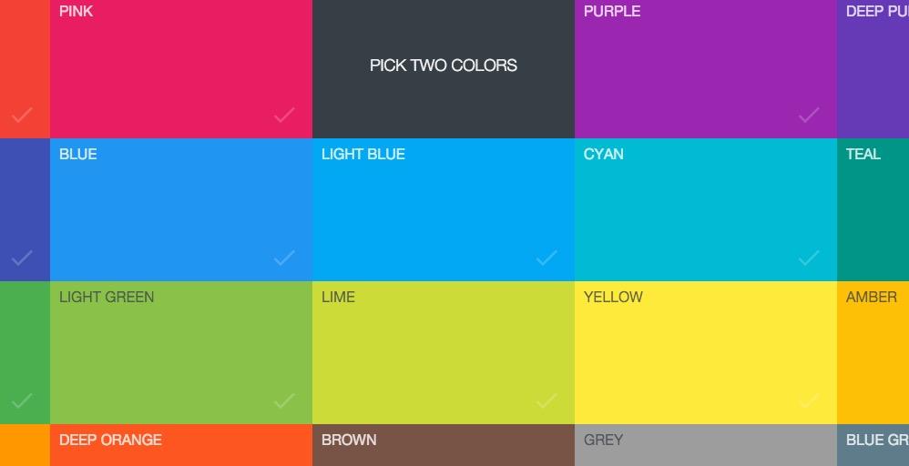colores material design android studio
