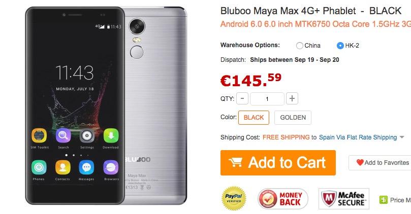 comprar-bluboo-maya-max