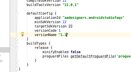 cambiar nombre version android
