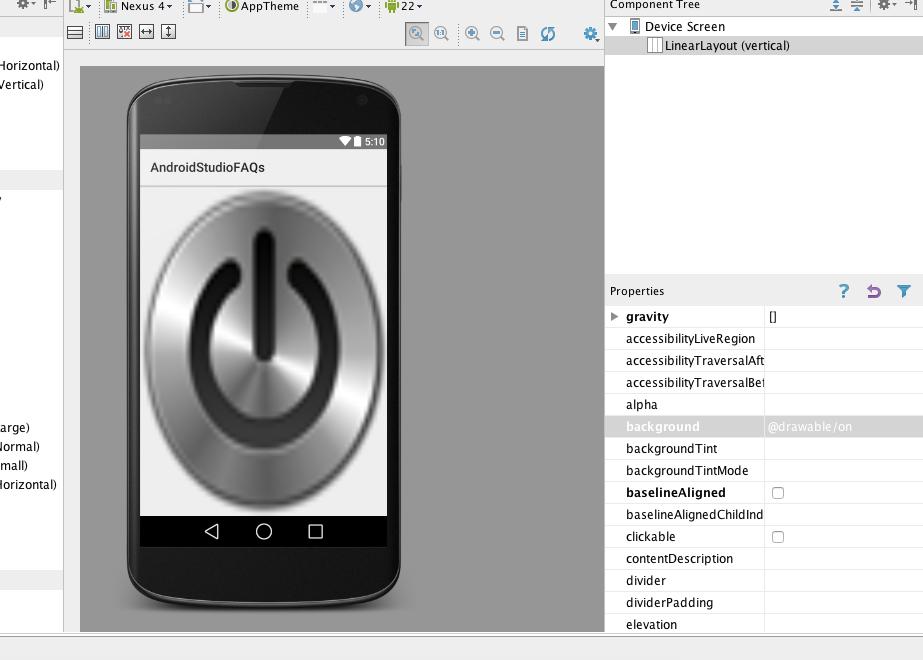 poner imagen de fondo en aplicacion android