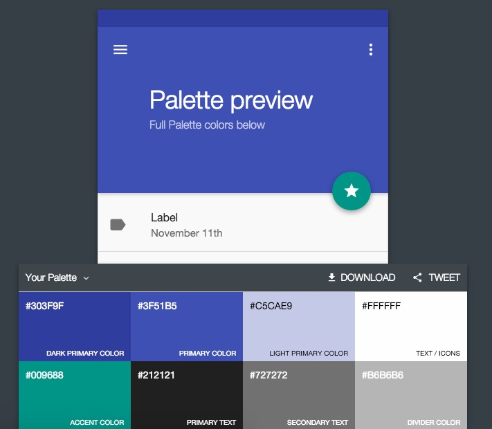 action bar material design para android