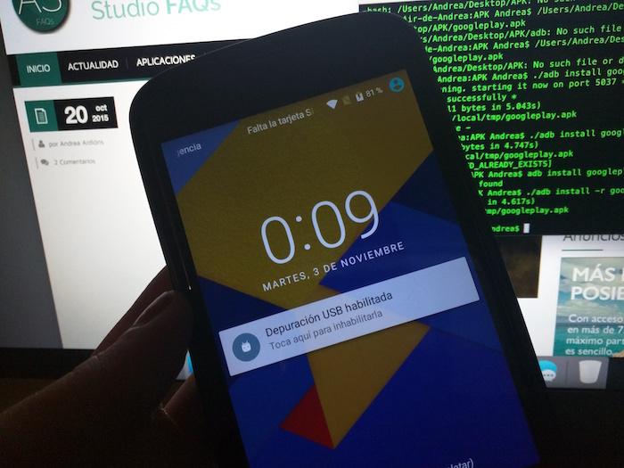 instalar apk en android desde pc
