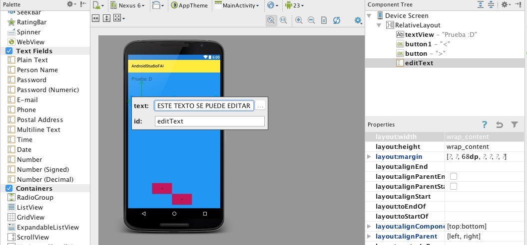 Personalizar Edittext En Android
