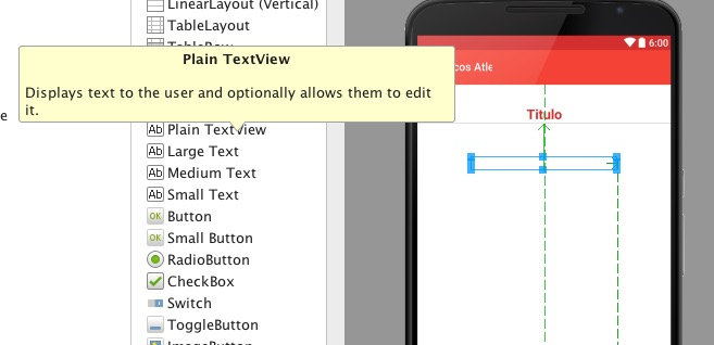 Personalizar TextView en Android