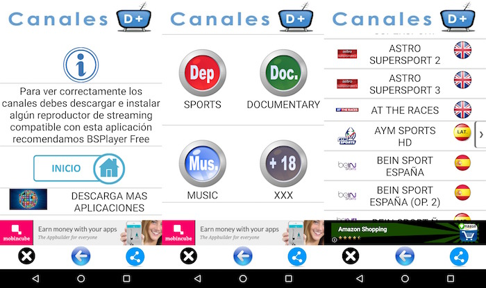 analisis tv online canales d+
