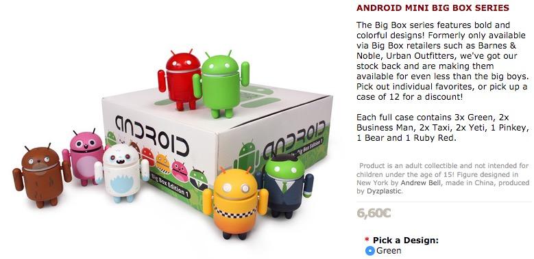 coleccion figuras android