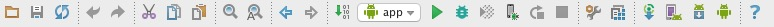 menu android studio