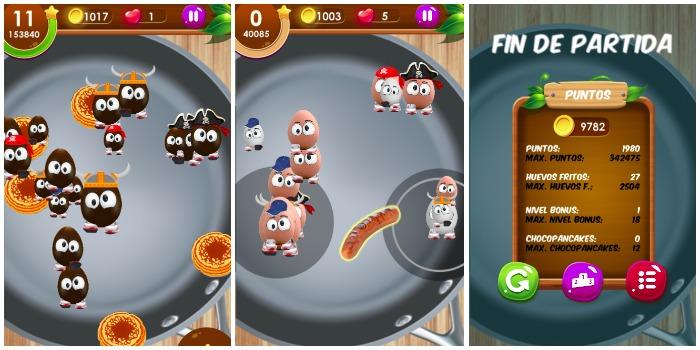 egg rush juego