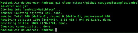clonar ejemplo github