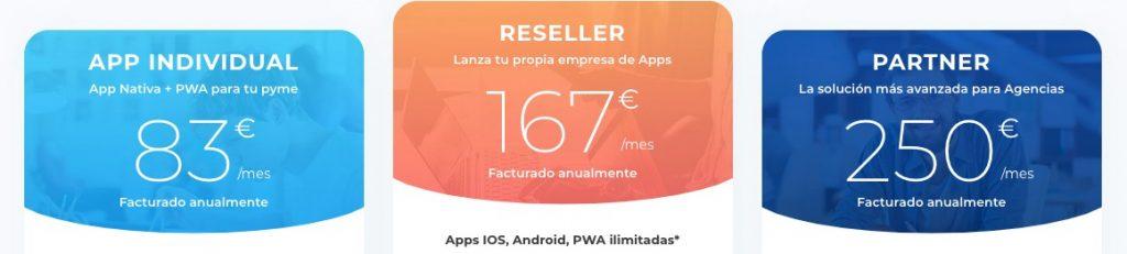 precios app net